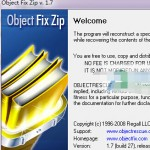 Object Fix Zip V1.70 绿色英文版